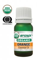 Organic Orange Essential Oil -10 mL