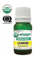 Organic Lemon Essential Oil -10 mL